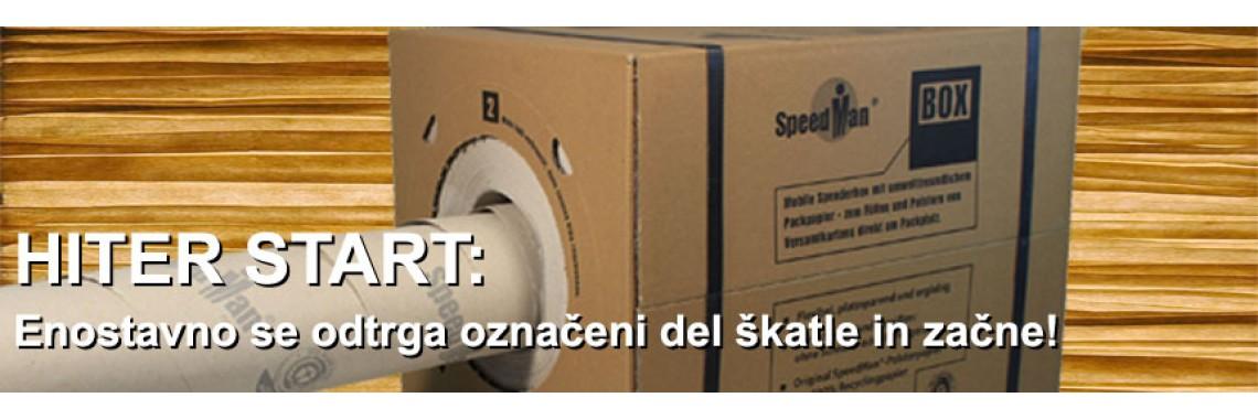 Preprosto odpr pokrovi škatle in začni!